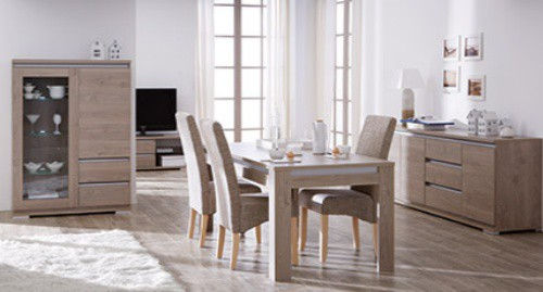 best salle a manger beige clair contemporary awesome interior home satellite. Black Bedroom Furniture Sets. Home Design Ideas