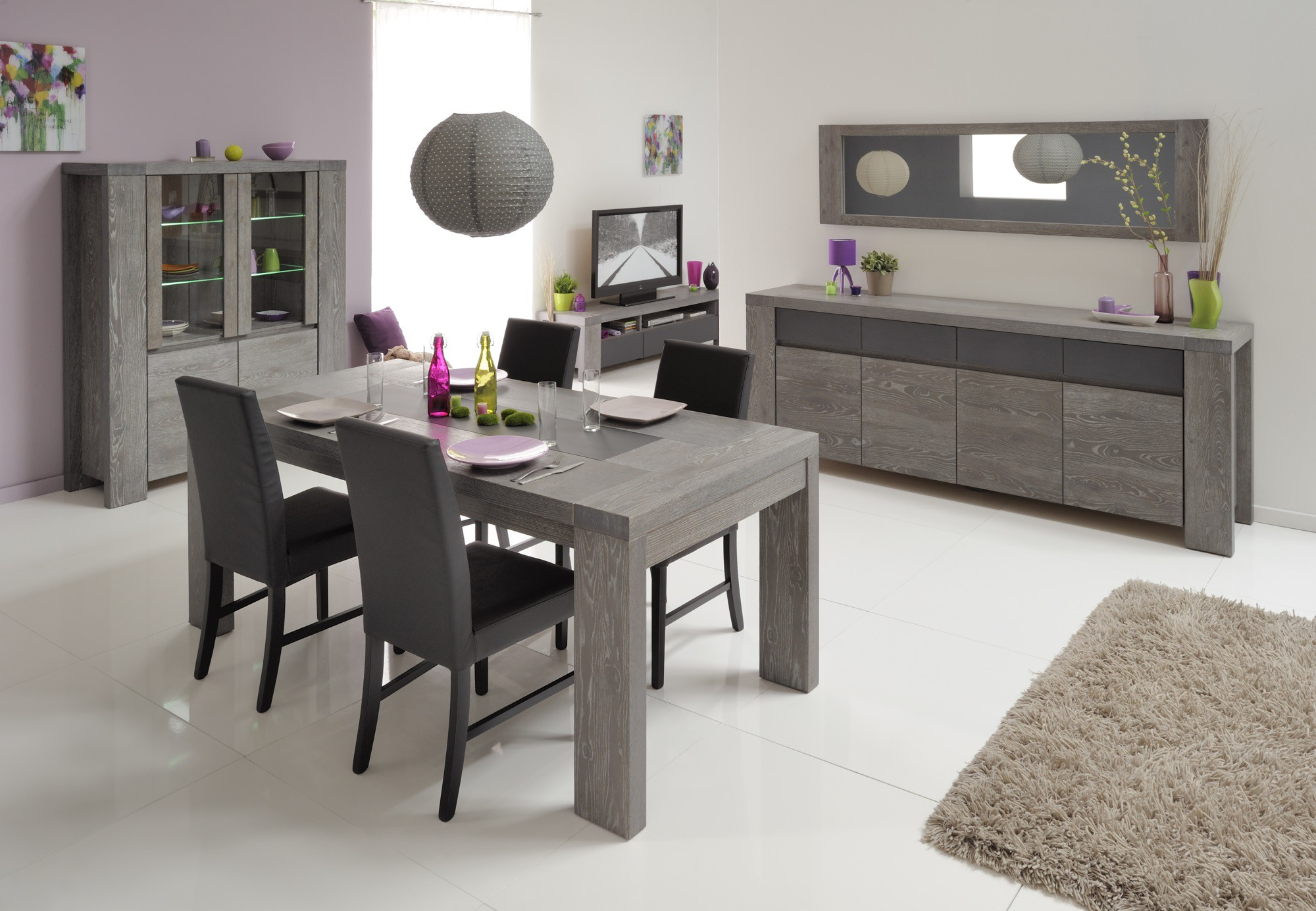 chaise salle a manger gris anthracite id es de. Black Bedroom Furniture Sets. Home Design Ideas