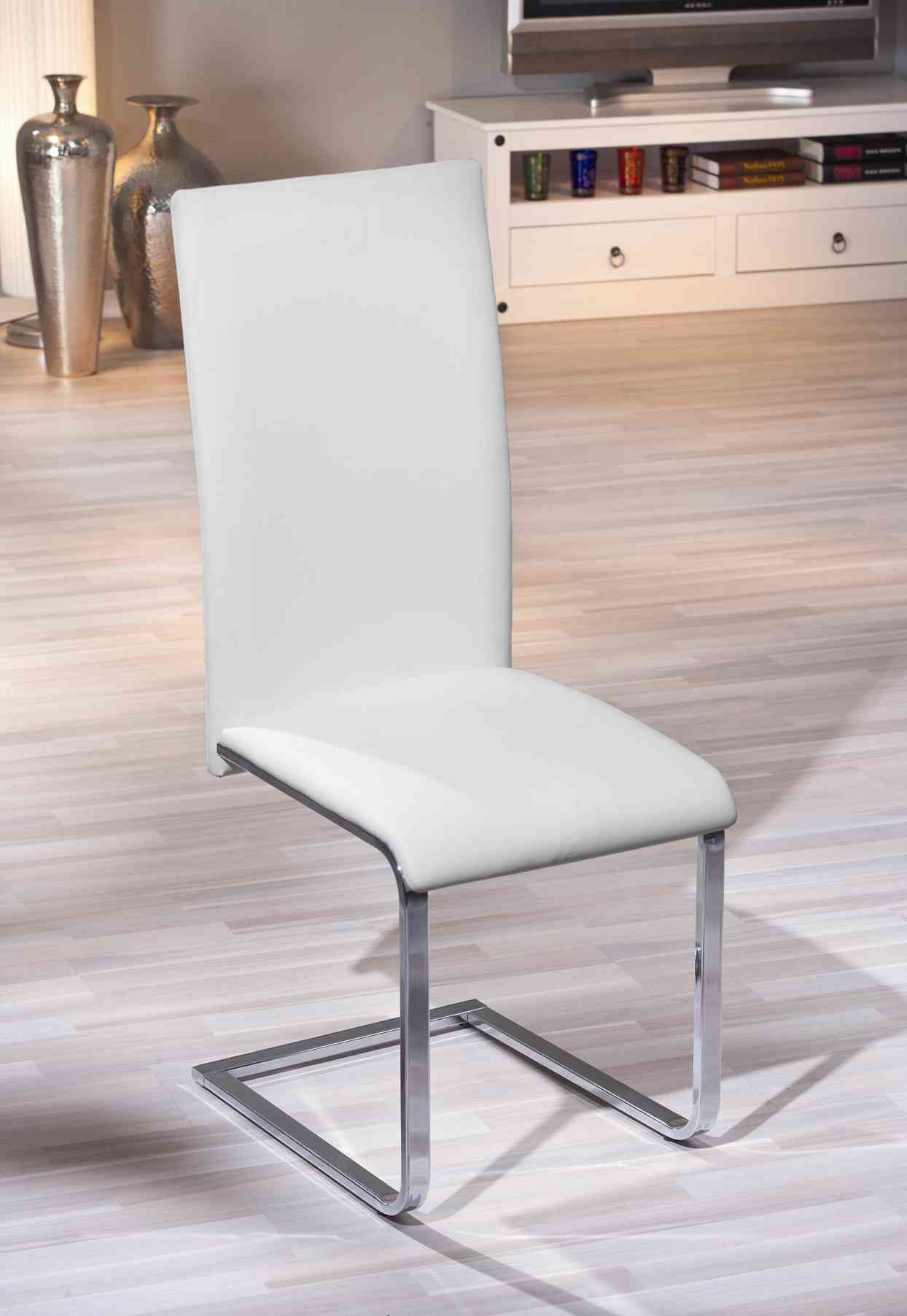 Chaises blanches design salle manger id es de d coration for Une salle a manger in french