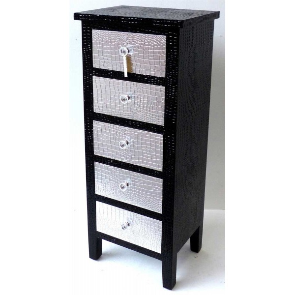 chiffonnier noir pas cher 9 id es de d coration. Black Bedroom Furniture Sets. Home Design Ideas