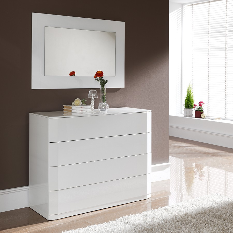 Commode blanche id es de d coration int rieure french for Des idees de decoration interieure