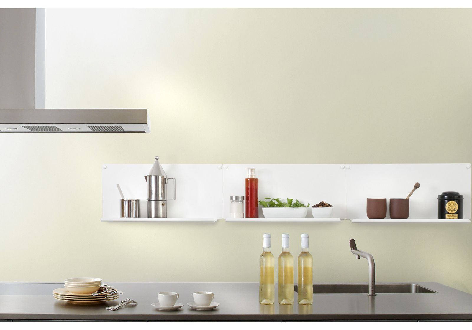 Cuisine etagere murale id es de d coration int rieure for Des idees de decoration interieure