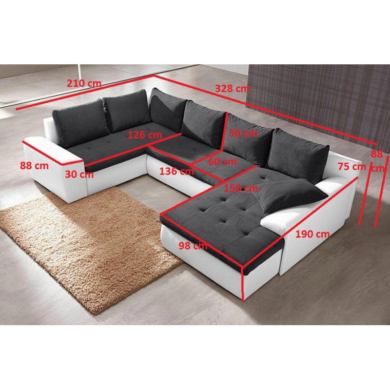 dimension canap angle 4 id es de d coration int rieure. Black Bedroom Furniture Sets. Home Design Ideas