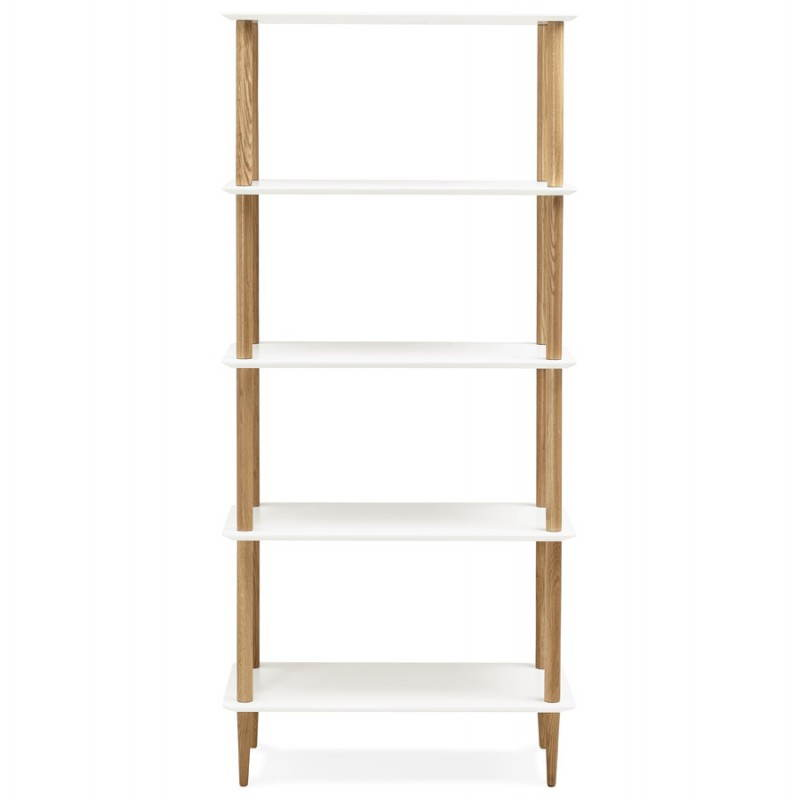 etagere blanche et bois id es de d coration int rieure. Black Bedroom Furniture Sets. Home Design Ideas