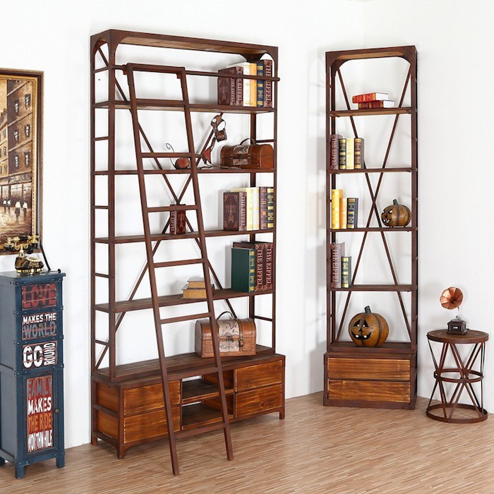 etagere metal et bois biblioth que id es de d coration int rieure french decor. Black Bedroom Furniture Sets. Home Design Ideas