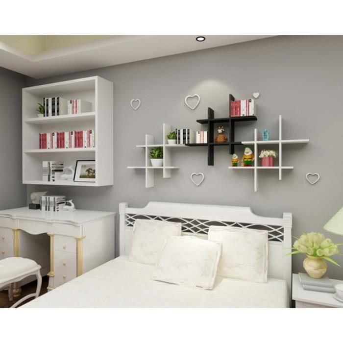 idee deco etagere murale maison design. Black Bedroom Furniture Sets. Home Design Ideas