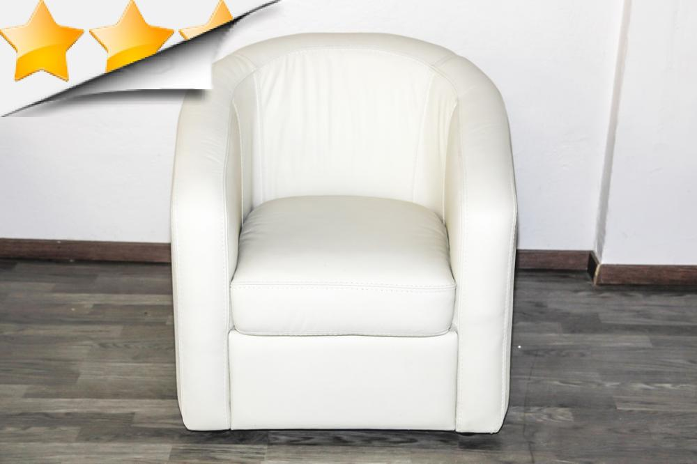 fauteuil cabriolet cuir blanc 18 id es de d coration. Black Bedroom Furniture Sets. Home Design Ideas