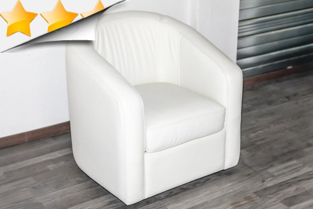 fauteuil cabriolet cuir blanc id es de d coration int rieure french decor. Black Bedroom Furniture Sets. Home Design Ideas
