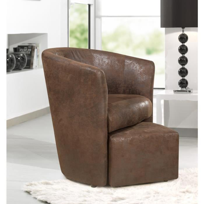 fauteuil crapaud cuir marron id es de d coration int rieure french decor. Black Bedroom Furniture Sets. Home Design Ideas
