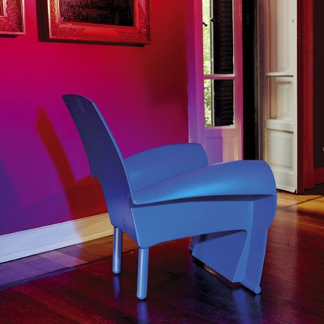 fauteuil design violet 10 id es de d coration int rieure french decor. Black Bedroom Furniture Sets. Home Design Ideas