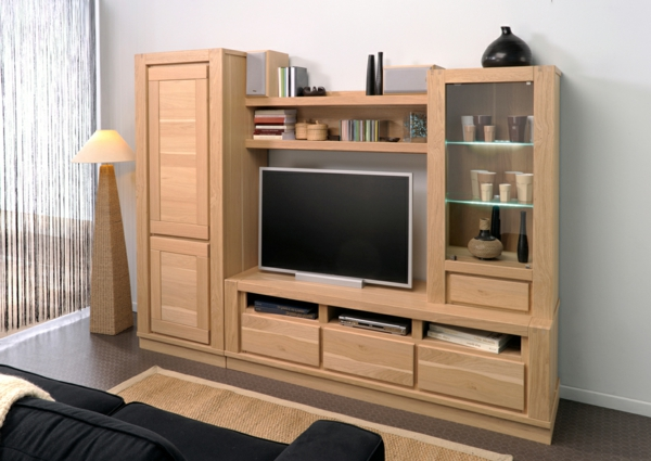 grand meuble tv bois 5 id es de d coration int rieure french decor. Black Bedroom Furniture Sets. Home Design Ideas