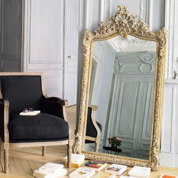 grand miroir baroque pas cher id es de d coration. Black Bedroom Furniture Sets. Home Design Ideas