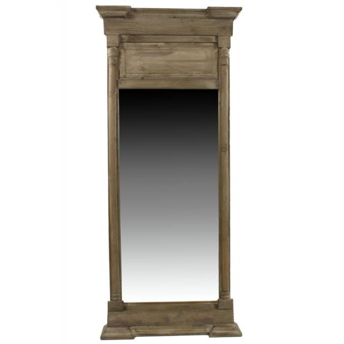 grand miroir rectangulaire bois id es de d coration int rieure french decor. Black Bedroom Furniture Sets. Home Design Ideas