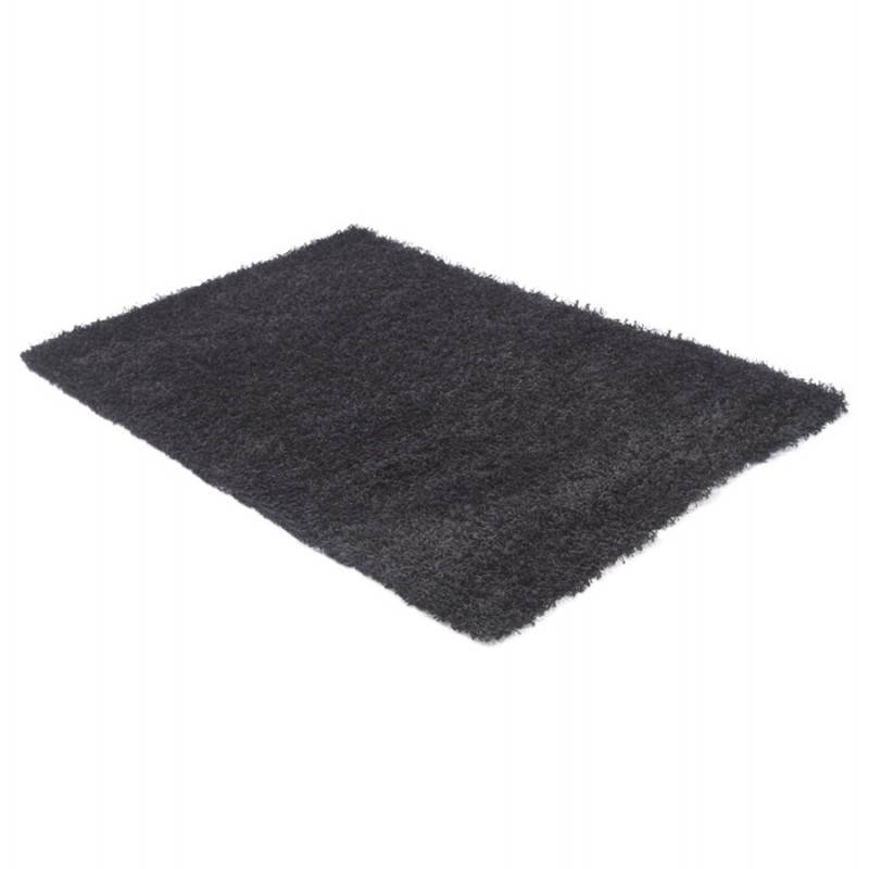 grand tapis noir idees de decoration interieure french With grand tapis noir