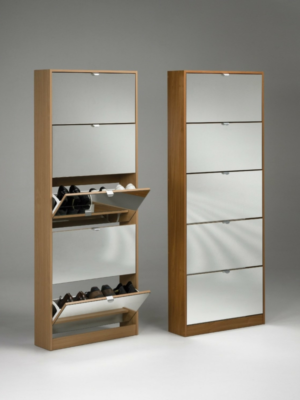 meuble chaussures avec miroir id es de d coration. Black Bedroom Furniture Sets. Home Design Ideas