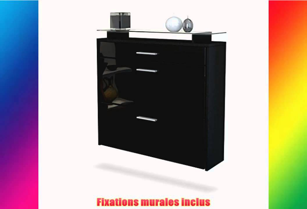 meuble chaussures noir laqu 5 id es de d coration. Black Bedroom Furniture Sets. Home Design Ideas
