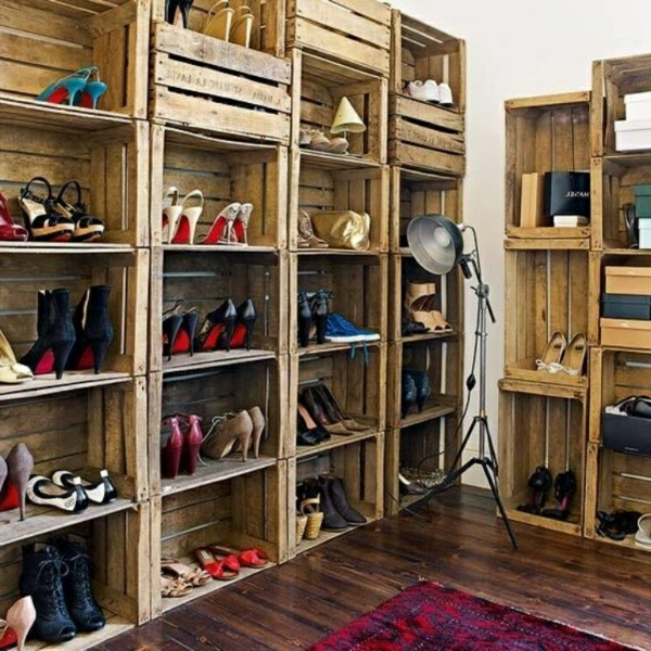 meuble chaussures original 1 id es de d coration. Black Bedroom Furniture Sets. Home Design Ideas