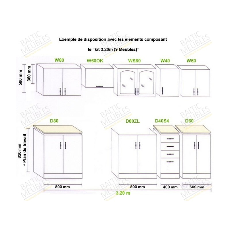 meuble de cuisine en kit pas cher id es de d coration int rieure french decor. Black Bedroom Furniture Sets. Home Design Ideas