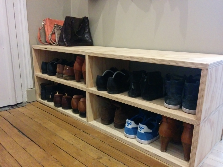 meuble de rangement pour chaussures 3 id es de. Black Bedroom Furniture Sets. Home Design Ideas