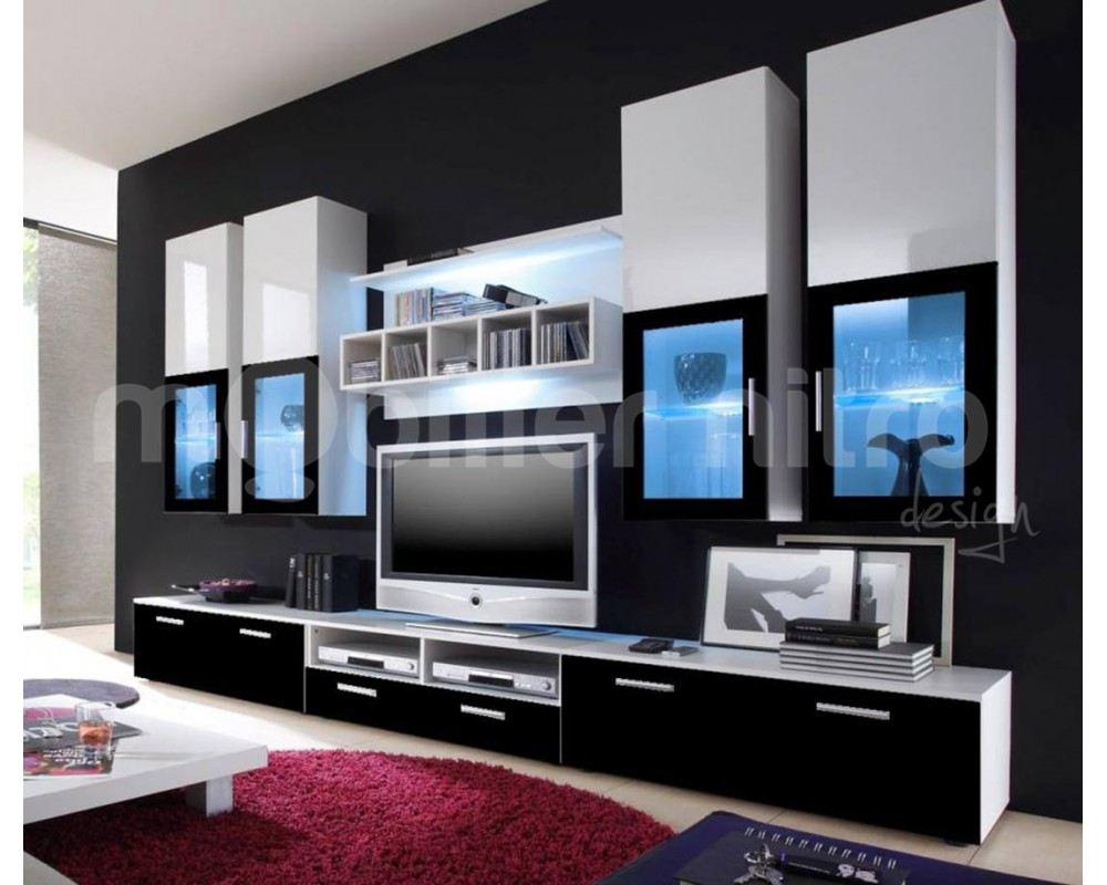 Meuble De Salon Tv Id Es De D Coration Int Rieure French Decor # Modele De Meuble De Television