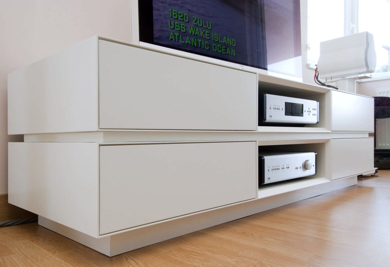 Meuble Hifi Suspendu Base 33 Meubles De Salon Suspendus L 39  # Meuble Hifi Tv Design