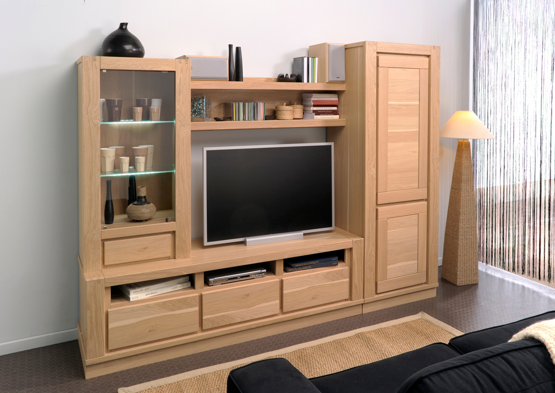 Meuble living tv id es de d coration int rieure french for Meuble tv living
