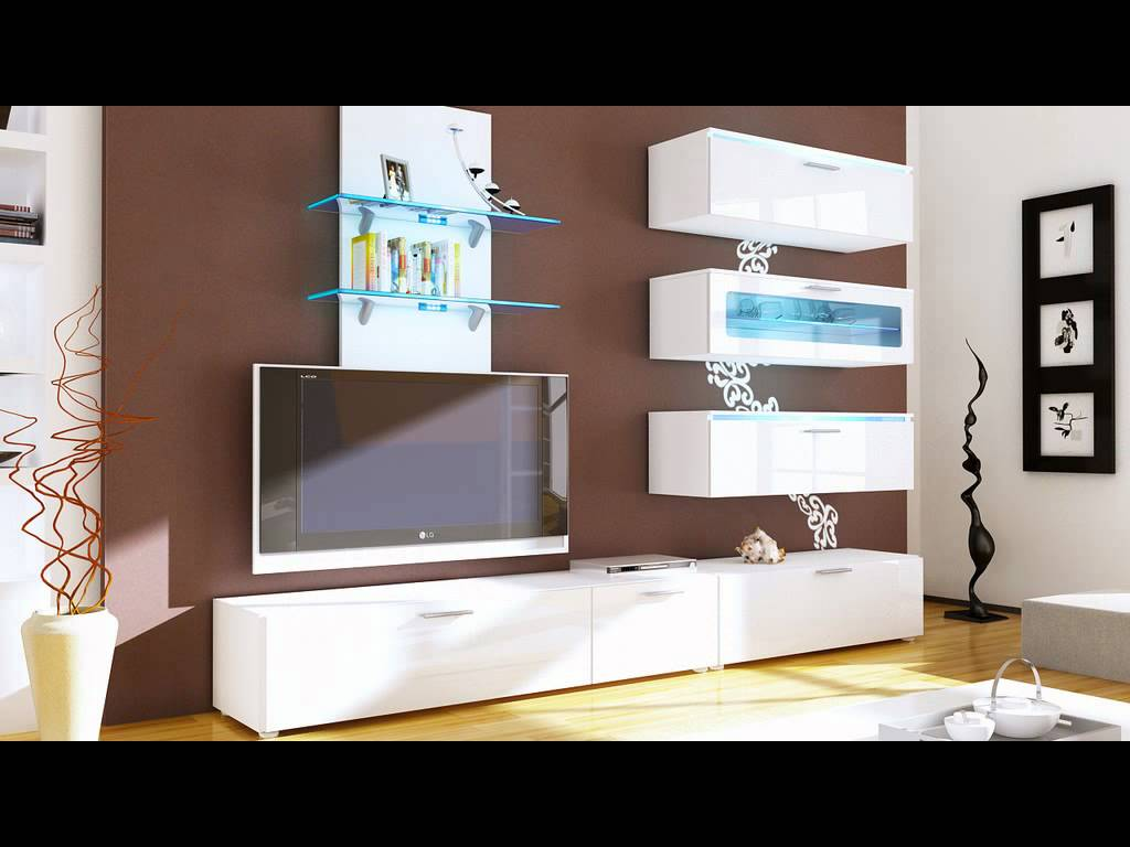 Meuble living tv moderne 17 id es de d coration for Meuble living