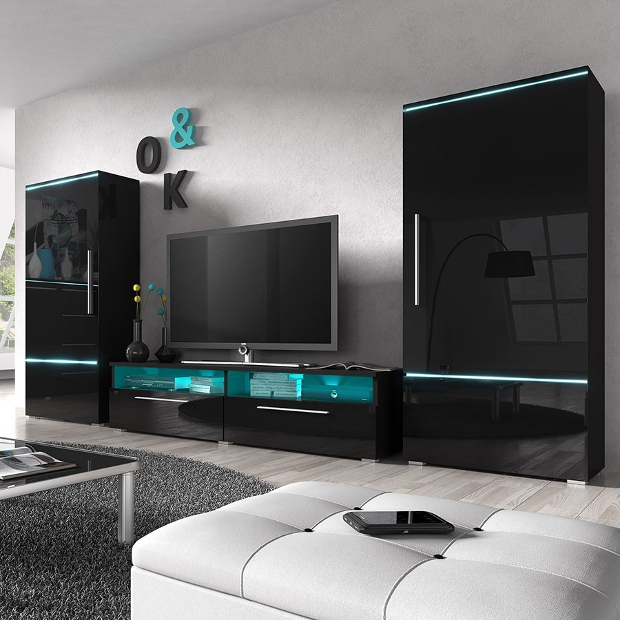 meuble sous tele murale id es de d coration int rieure french decor. Black Bedroom Furniture Sets. Home Design Ideas