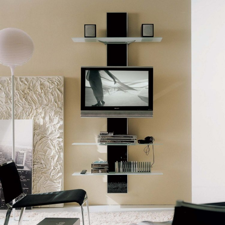 meuble tele avec rangement 10 id es de d coration int rieure french decor. Black Bedroom Furniture Sets. Home Design Ideas