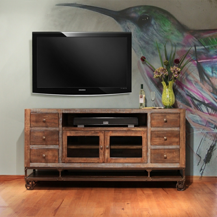 meuble tv 50 11 id es de d coration int rieure french. Black Bedroom Furniture Sets. Home Design Ideas