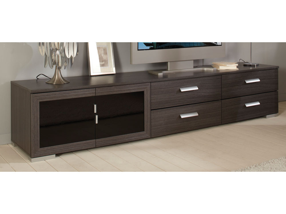 Meuble tv bas et long bois id es de d coration int rieure french decor - Long meuble tv ...