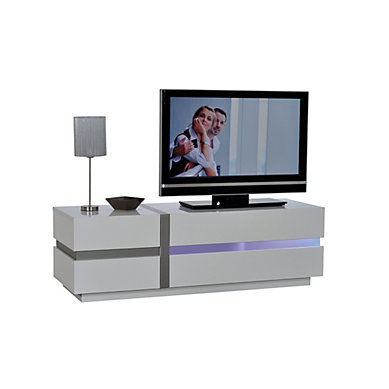 meuble tv blanc laqu 100 cm 13 id es de d coration int rieure french decor. Black Bedroom Furniture Sets. Home Design Ideas