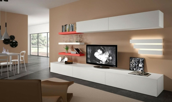 meuble tv blanc long 5 id es de d coration int rieure. Black Bedroom Furniture Sets. Home Design Ideas