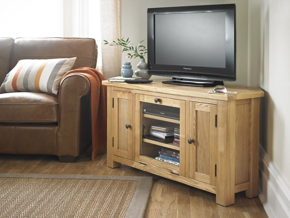 meuble tv de coin en bois 8 id es de d coration. Black Bedroom Furniture Sets. Home Design Ideas