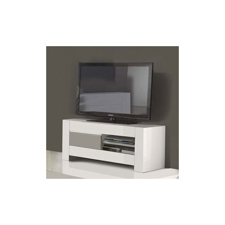 meuble tv design blanc laque pas cher 2 id es de. Black Bedroom Furniture Sets. Home Design Ideas