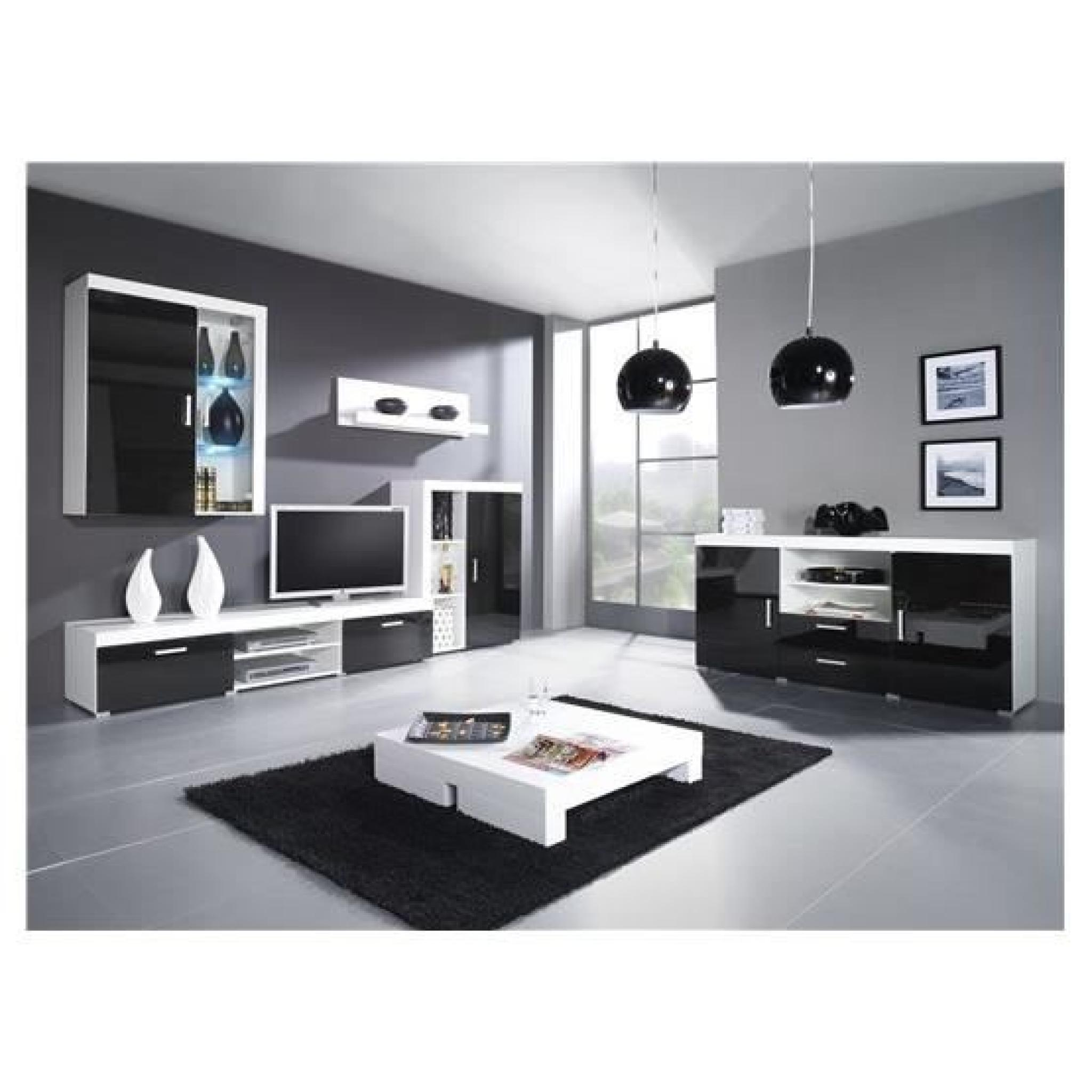meuble tv design pas cher blanc id es de d coration. Black Bedroom Furniture Sets. Home Design Ideas