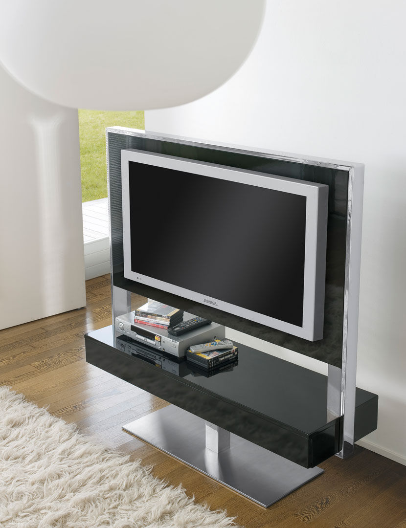 meuble tv en verre et bois 12 id es de d coration int rieure french decor. Black Bedroom Furniture Sets. Home Design Ideas