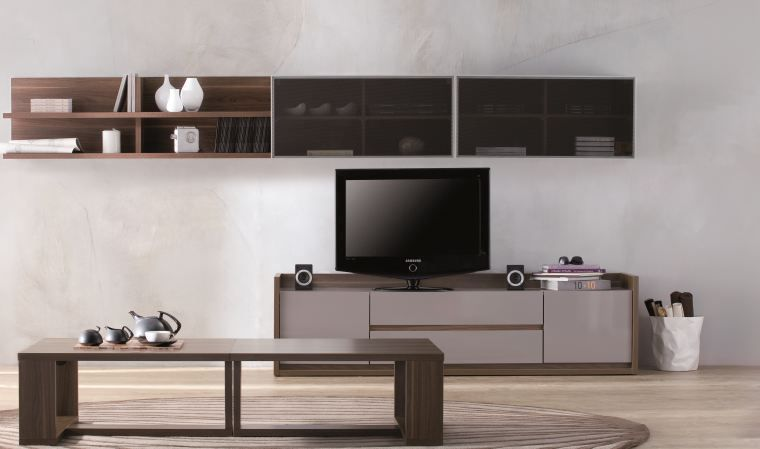 meuble tv gris pas cher 15 id es de d coration. Black Bedroom Furniture Sets. Home Design Ideas