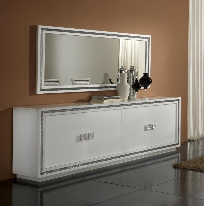 miroir rectangulaire blanc laqu id es de d coration int rieure french decor. Black Bedroom Furniture Sets. Home Design Ideas