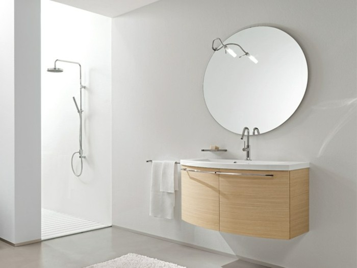 miroir rond pour salle de bain id es de d coration. Black Bedroom Furniture Sets. Home Design Ideas