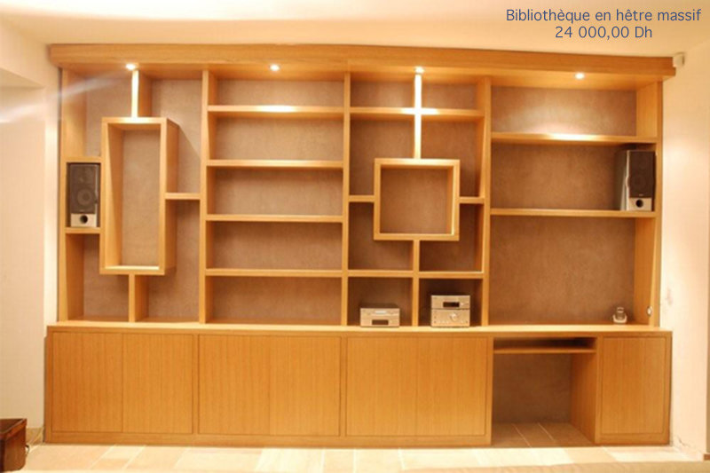 modele bibliotheque en bois id es de d coration int rieure french decor. Black Bedroom Furniture Sets. Home Design Ideas