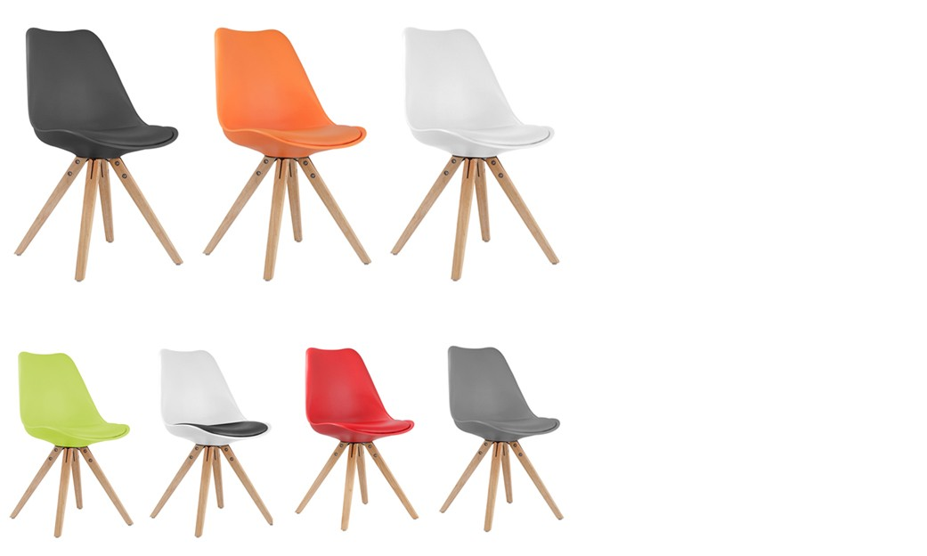 Soldes chaises design excellent latest chaise scandinave for Chaise blanche solde