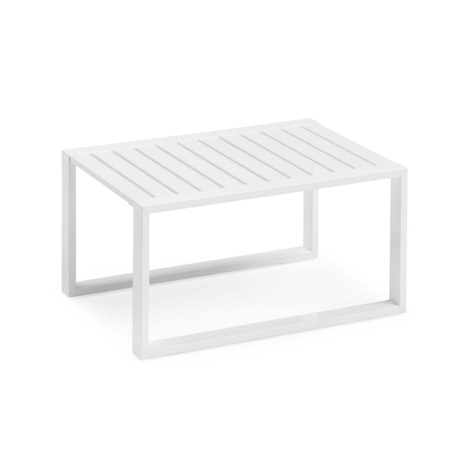 Table basse blanche carree id es de d coration for Table blanche carree
