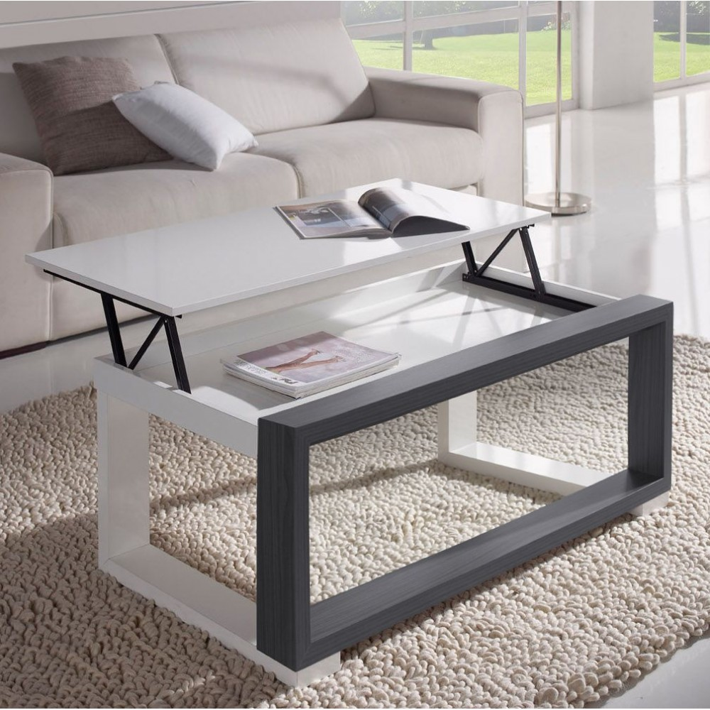 Emejing table basse exotique pas cher contemporary for Table basse bois blanc