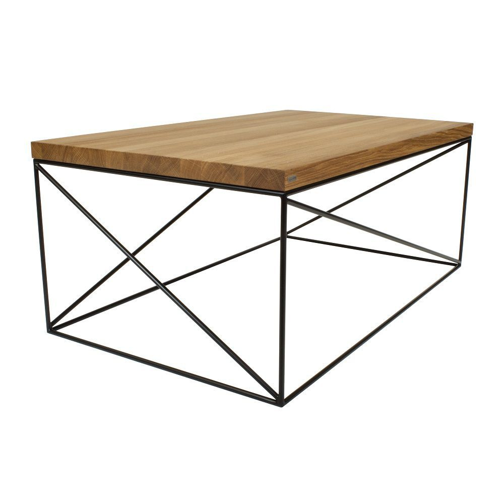 Table basse chene et metal 17 id es de d coration for Table chene et metal