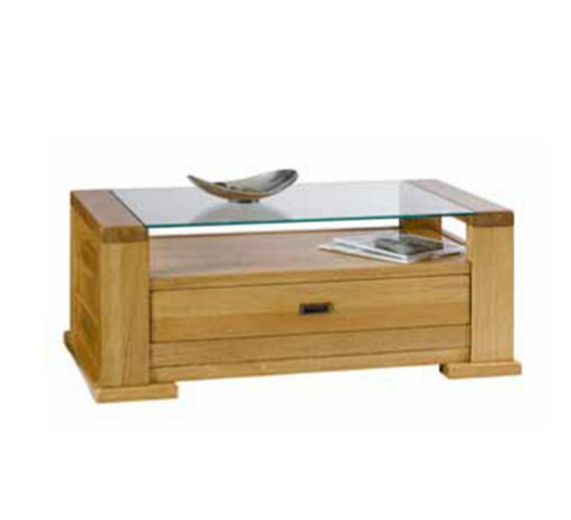 Table basse chene et verre 14 id es de d coration for Table basse chene et verre