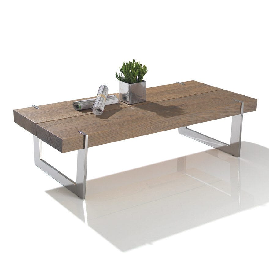 Table basse chene metal 20 id es de d coration for Table basse chene metal