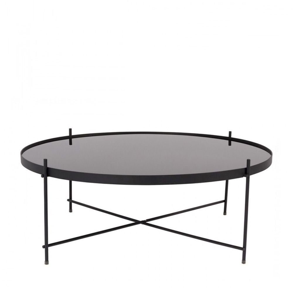 Table basse noir en verre 20 id es de d coration int rieure french decor - Table basse en verre noir ...