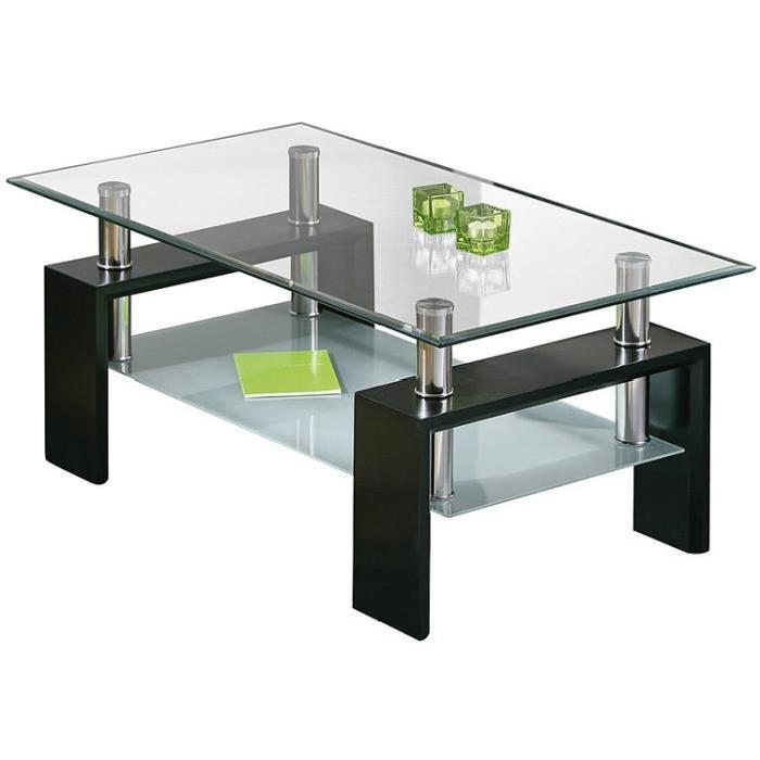 table basse noir verre 4 id es de d coration int rieure. Black Bedroom Furniture Sets. Home Design Ideas