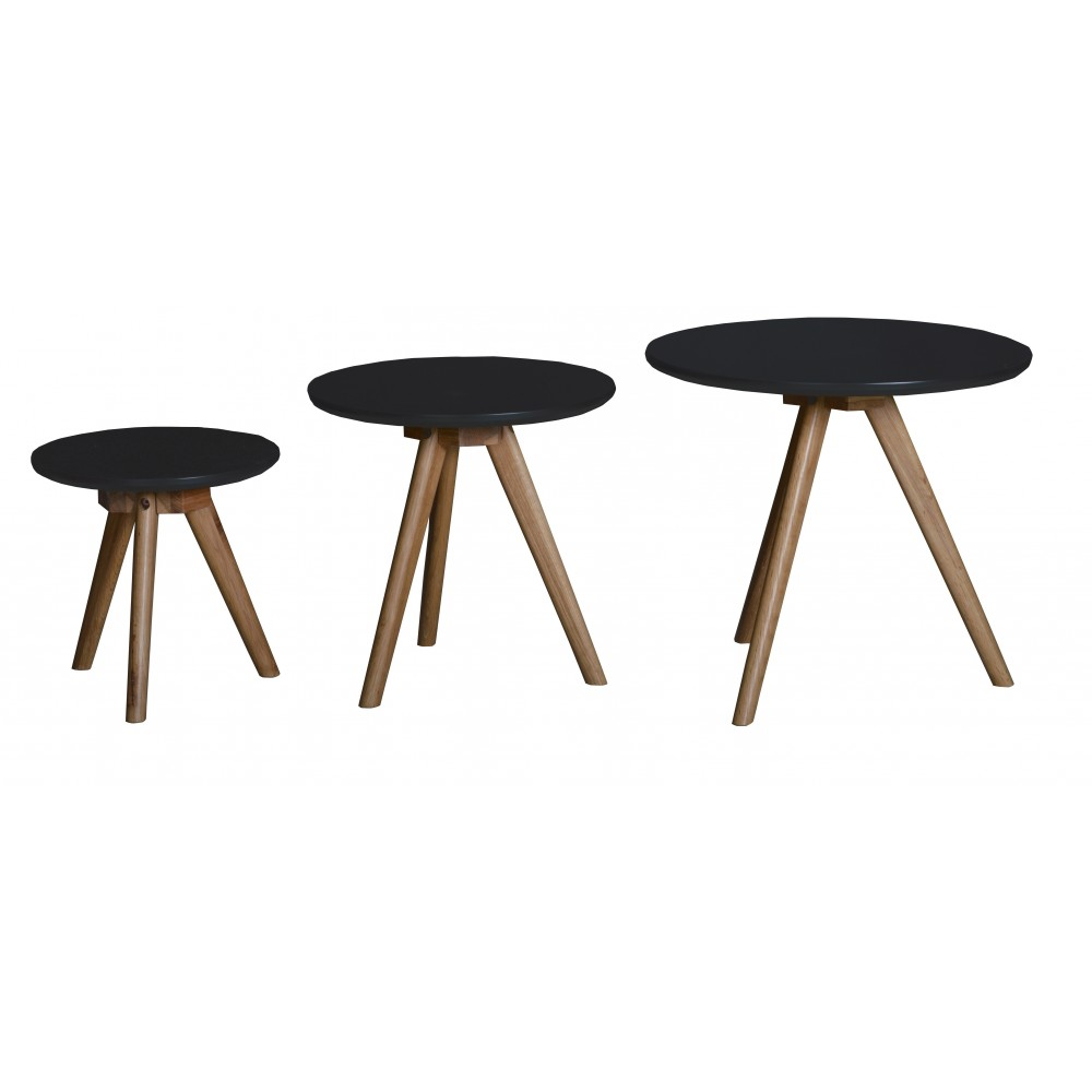 Table basse noire ronde 17 id es de d coration - Tables basses noires ...